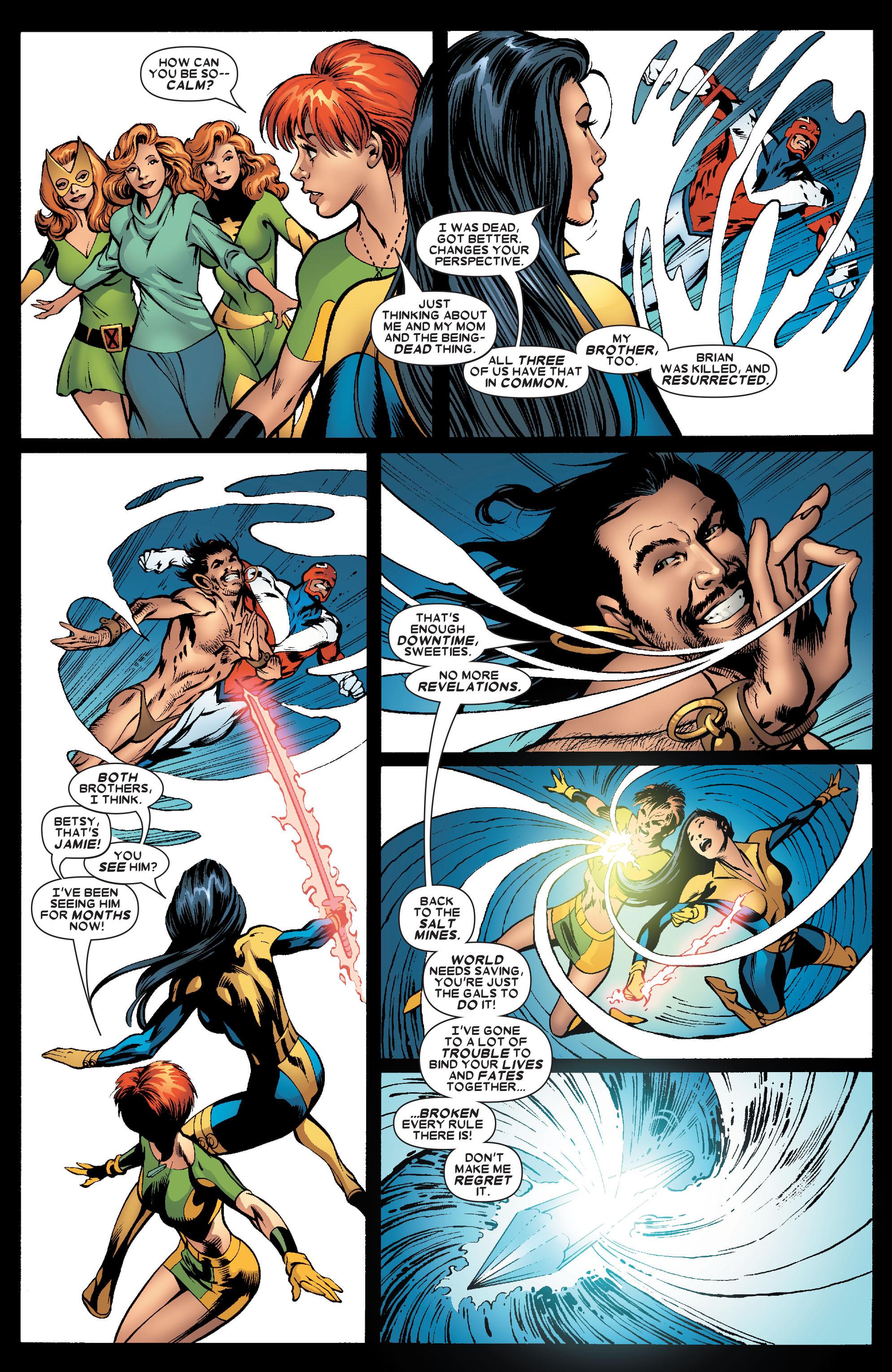 Read online Uncanny X-Men (1963) comic -  Issue #462 - 21
