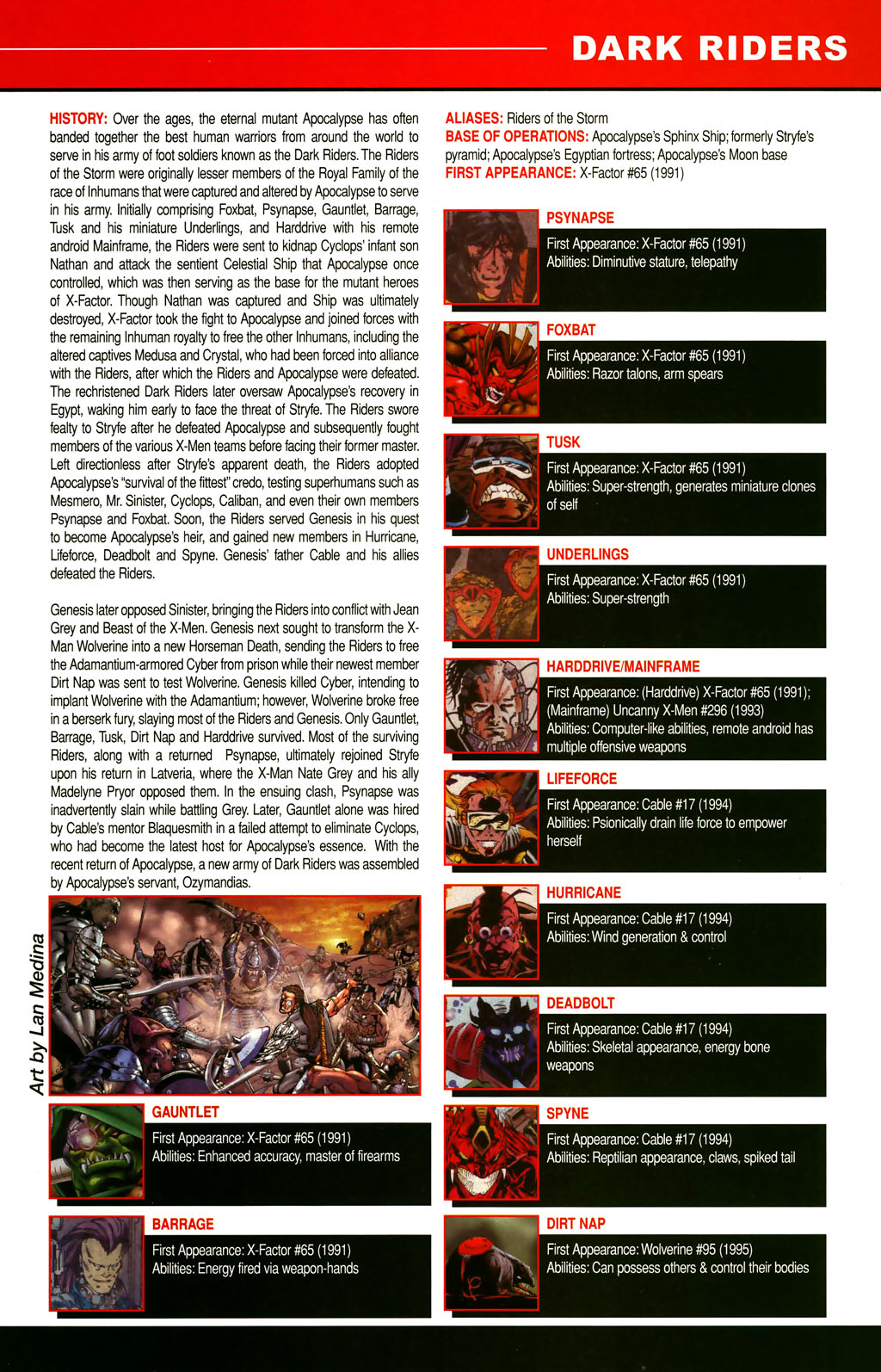 Read online All-New Official Handbook of the Marvel Universe A to Z comic -  Issue #3 - 17