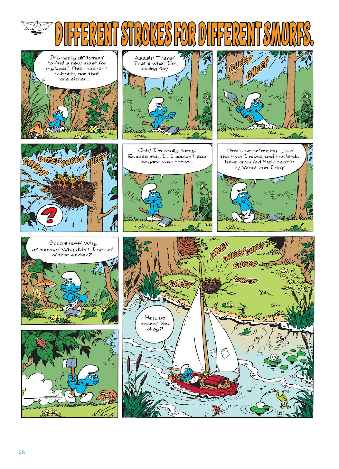 Read online The Smurfs comic -  Issue #11 - 38