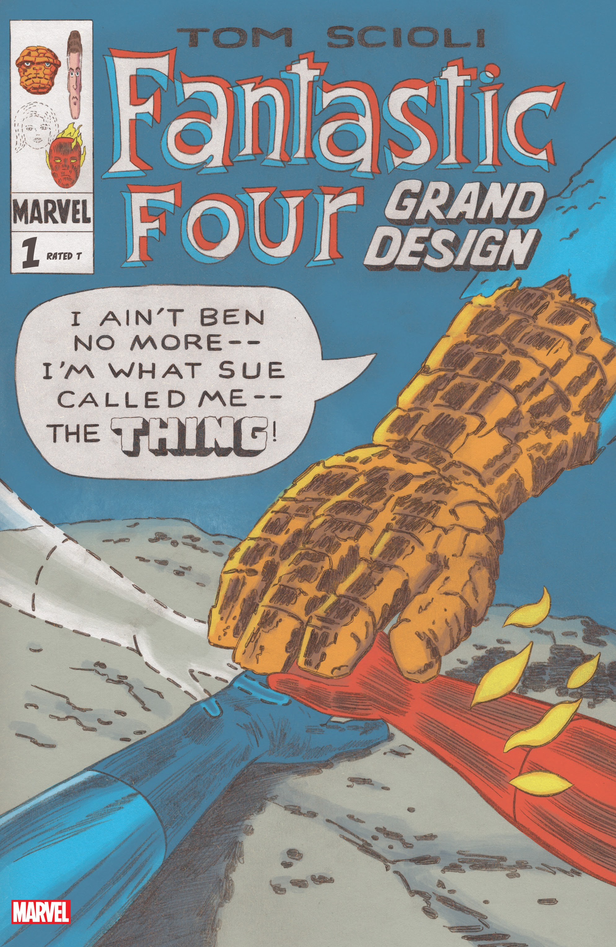 Fantastic Four: Grand Design 1 Page 1