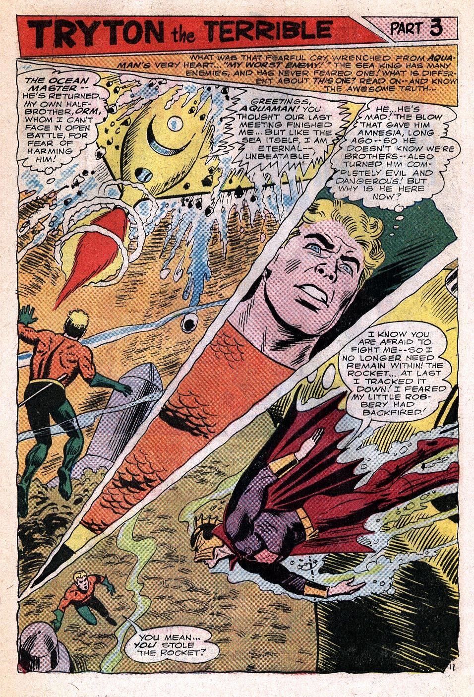 Read online Aquaman (1962) comic -  Issue #32 - 24