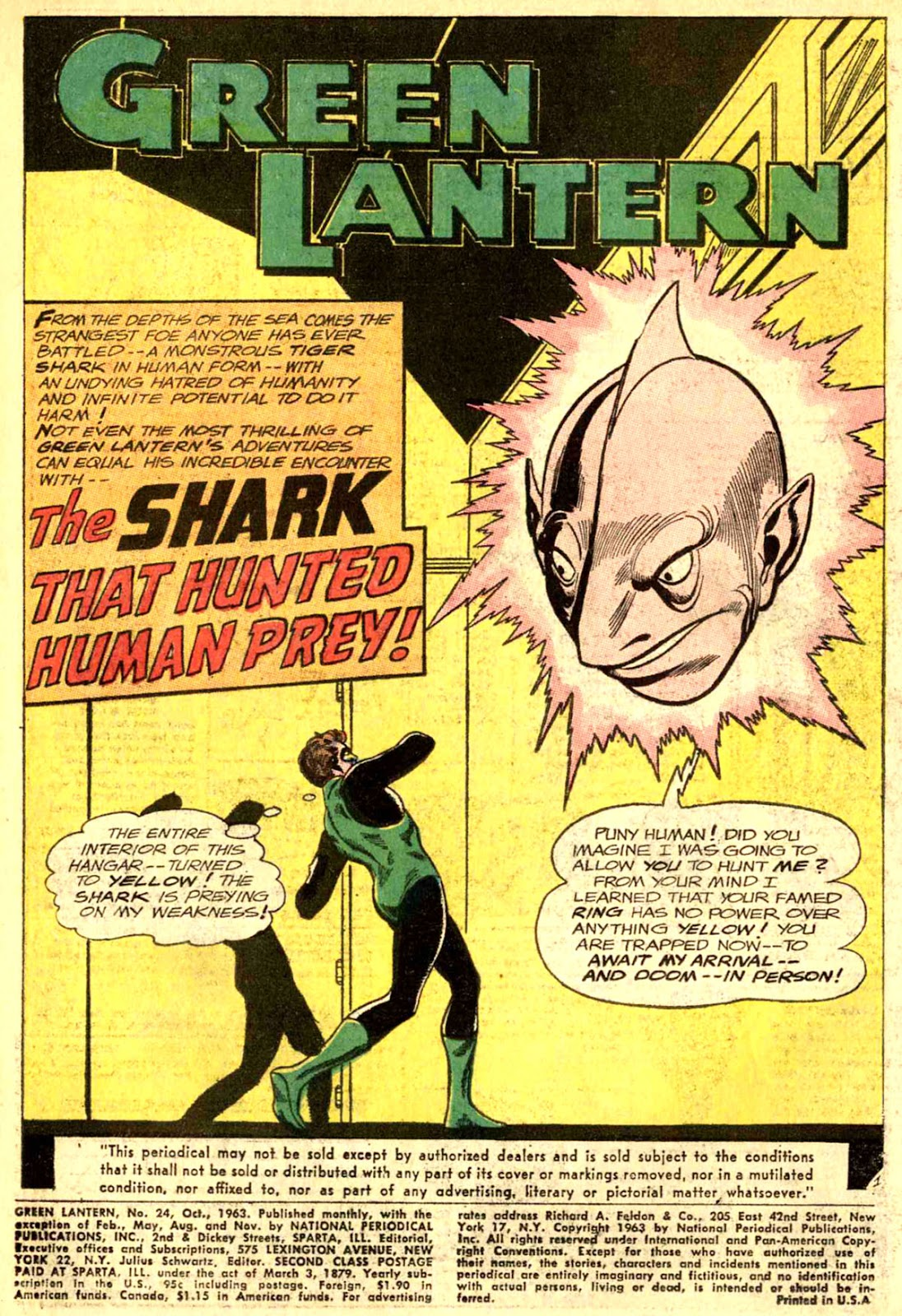 Green Lantern (1960) Issue #24 #27 - English 3