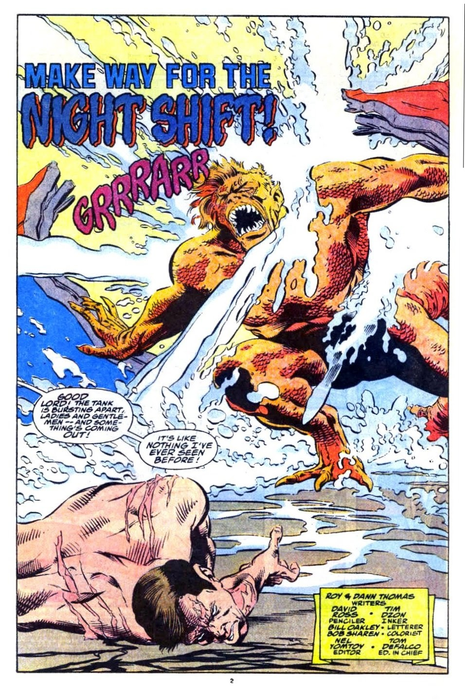 Avengers West Coast (1989) issue 76 - Page 3
