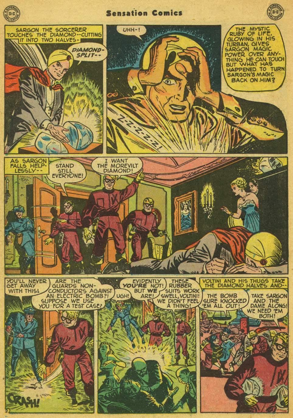 Read online Sensation (Mystery) Comics comic -  Issue #80 - 25