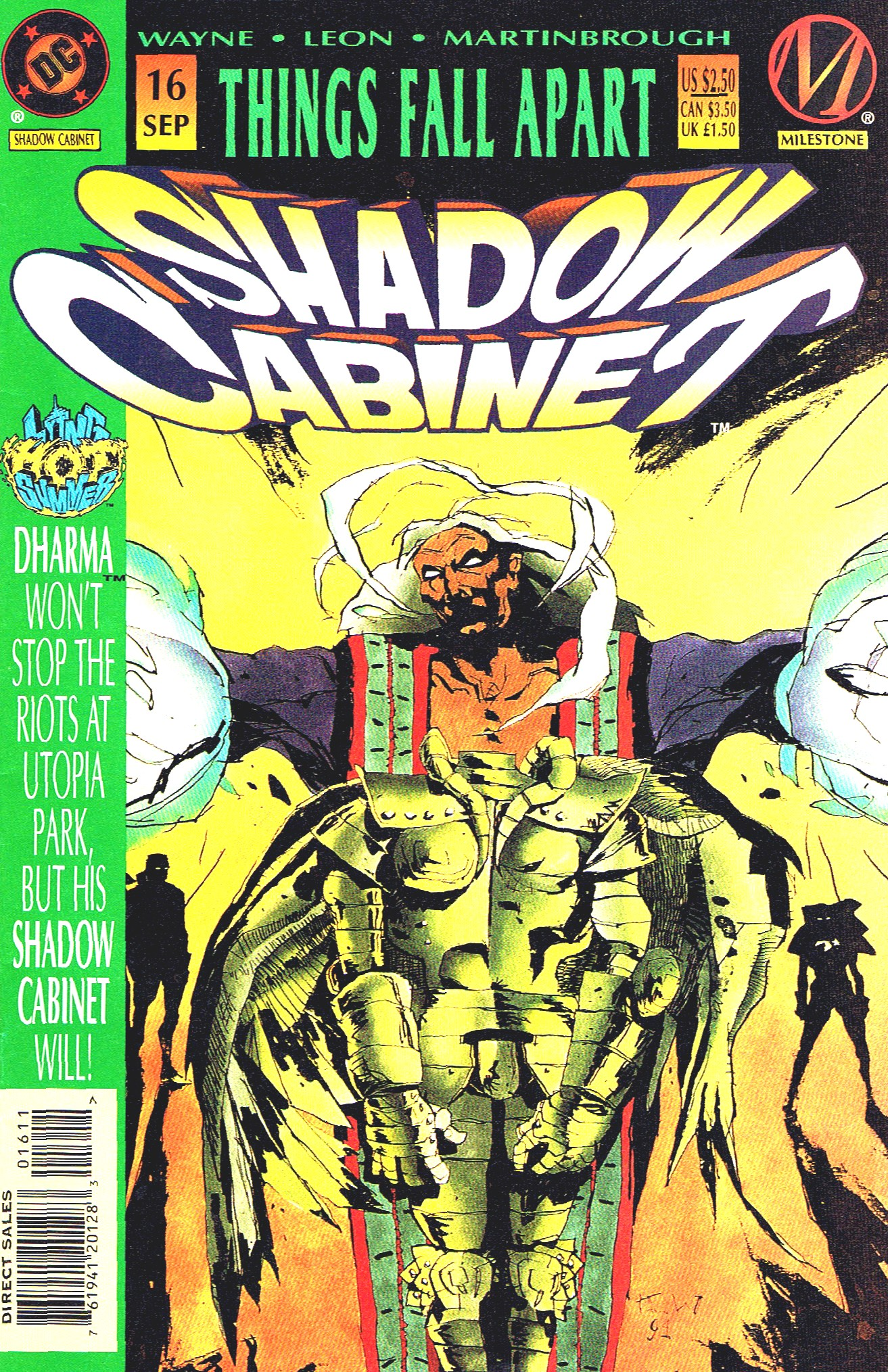 Read online Shadow Cabinet comic -  Issue #16 - 1