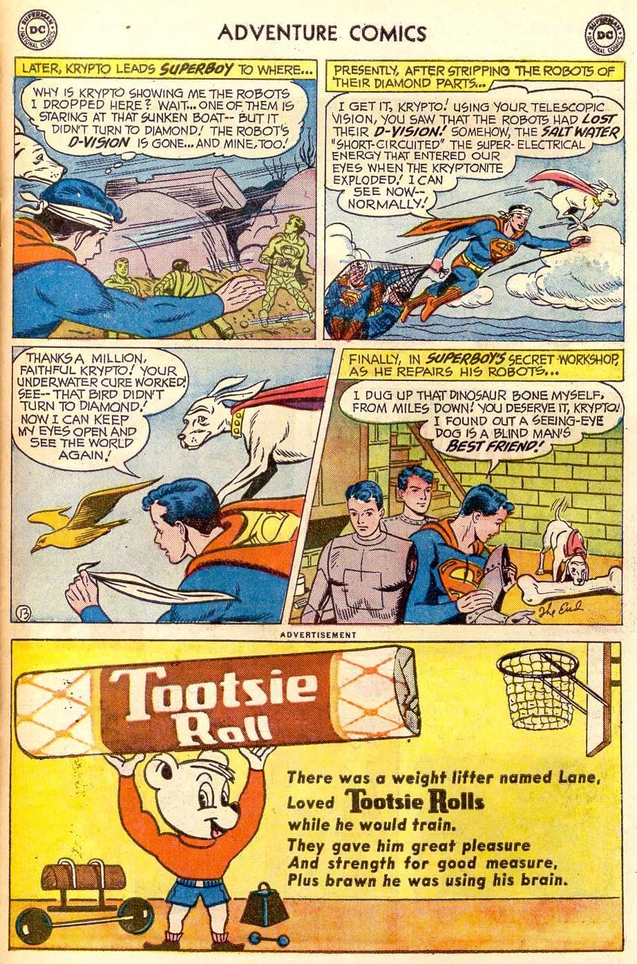 Read online Adventure Comics (1938) comic -  Issue #259 - 15