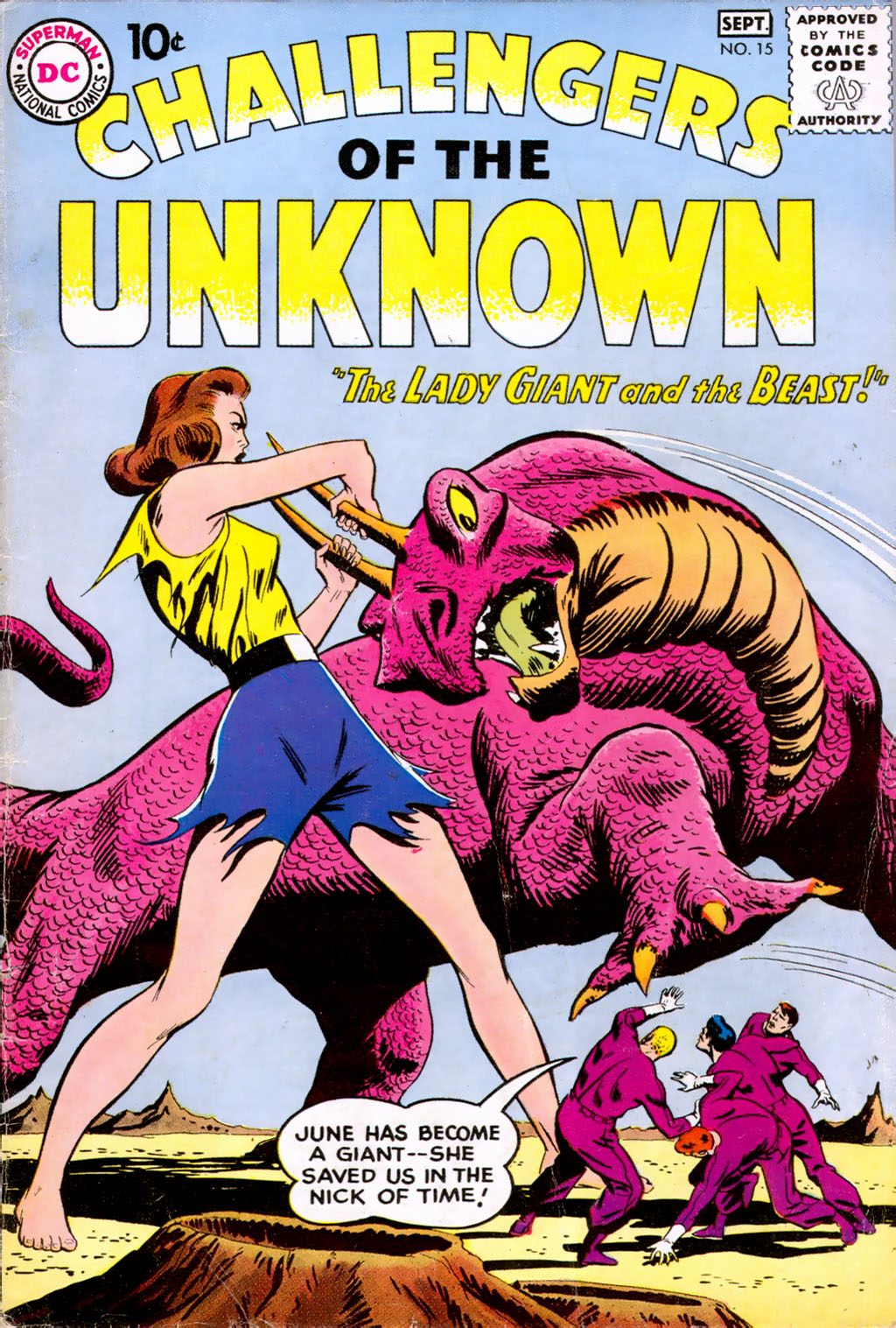 Challengers of the Unknown (1958) 15 Page 1