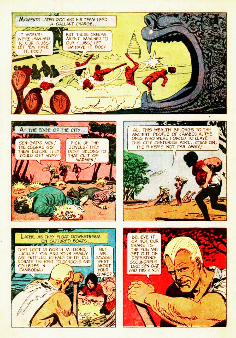 Read online Doc Savage (1966) comic -  Issue # Full - 34