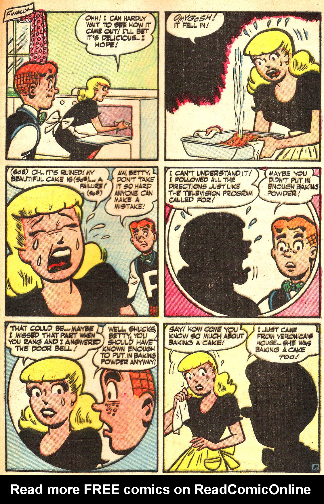 Read online Archie's Girls Betty and Veronica comic -  Issue #Archie's Girls Betty and Veronica Annual 1 - 97