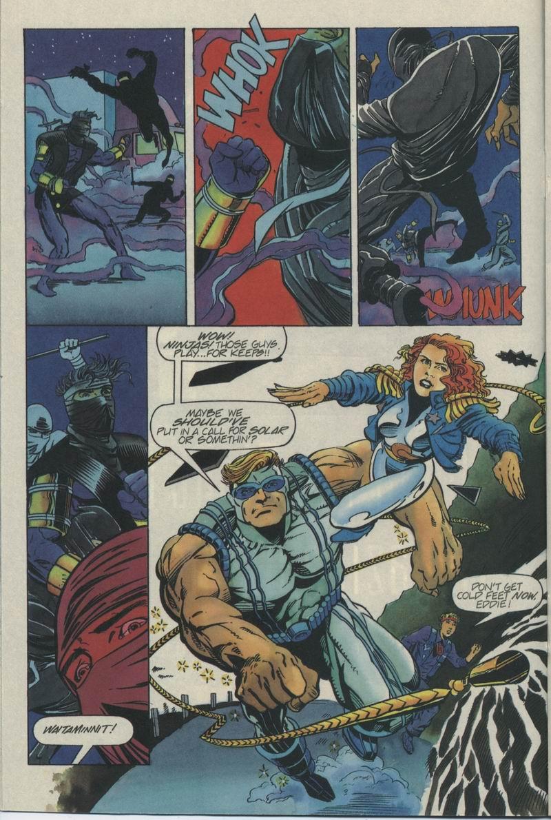Read online Secret Weapons comic -  Issue #5 - 12