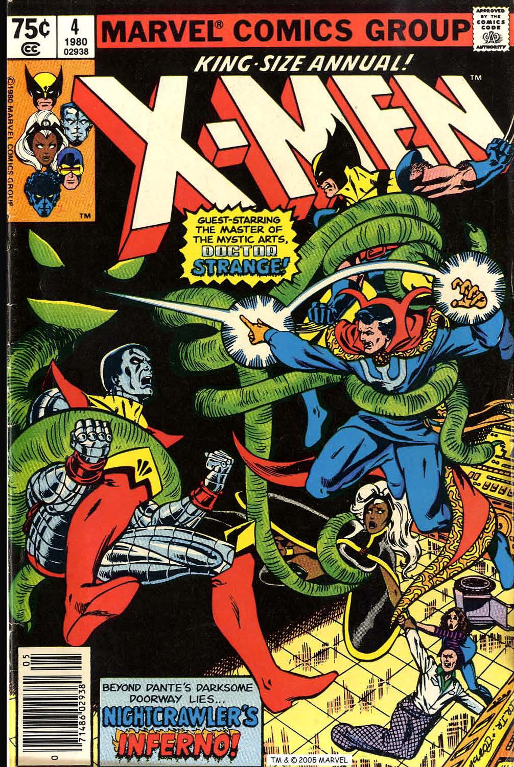 Uncanny X-Men (1963) issue _Annual_4 - Page 1