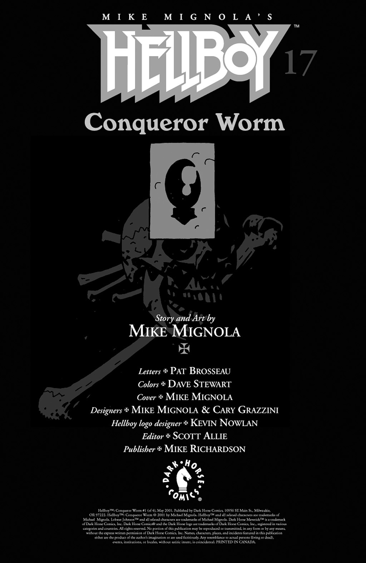 Read online Hellboy: Conqueror Worm comic -  Issue #1 - 2