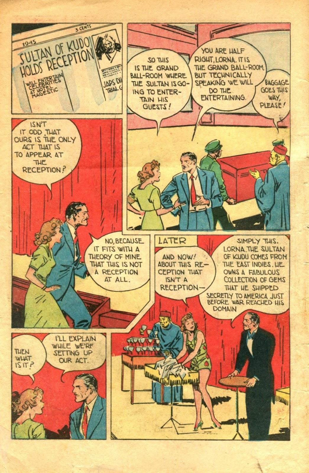 Read online Super-Magician Comics comic -  Issue #48 - 4