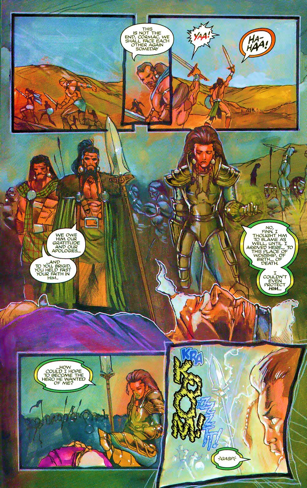More Than Mortal: Sagas issue 3 - Page 24
