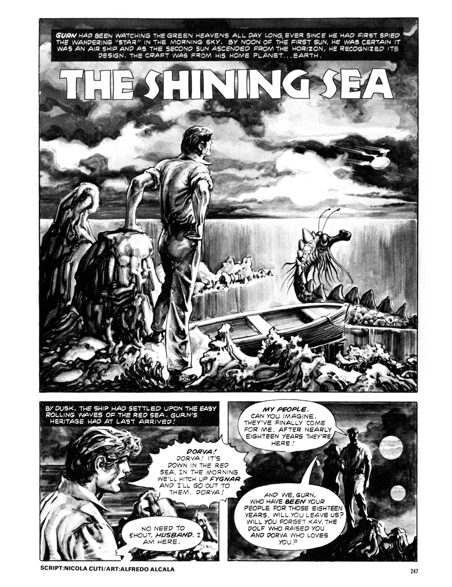 Read online Eerie Archives comic -  Issue # TPB 20 - 247