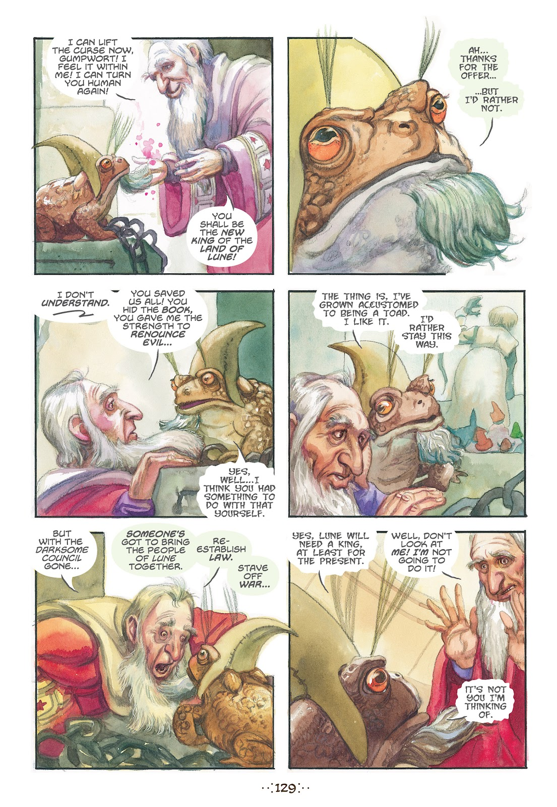 Read online The Wizard's Tale comic -  Issue # TPB - 122