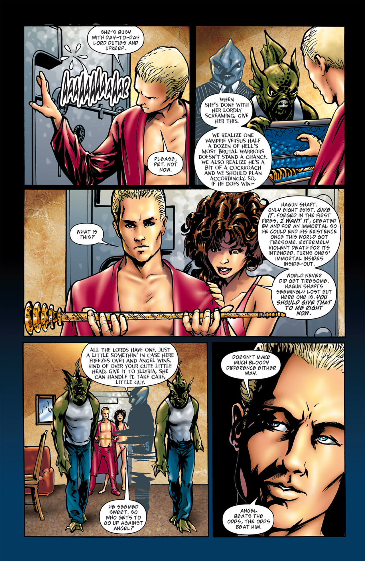 Read online Angel: After The Fall comic -  Issue #4 - 14