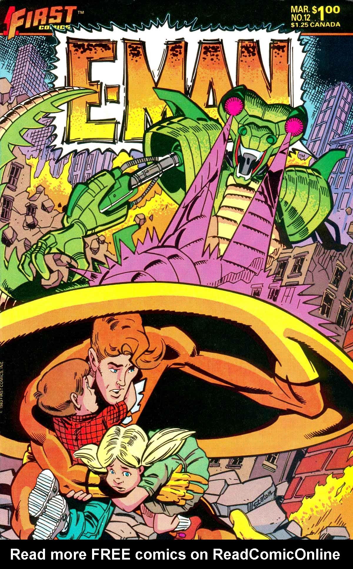 E-Man (1983) 12 Page 1