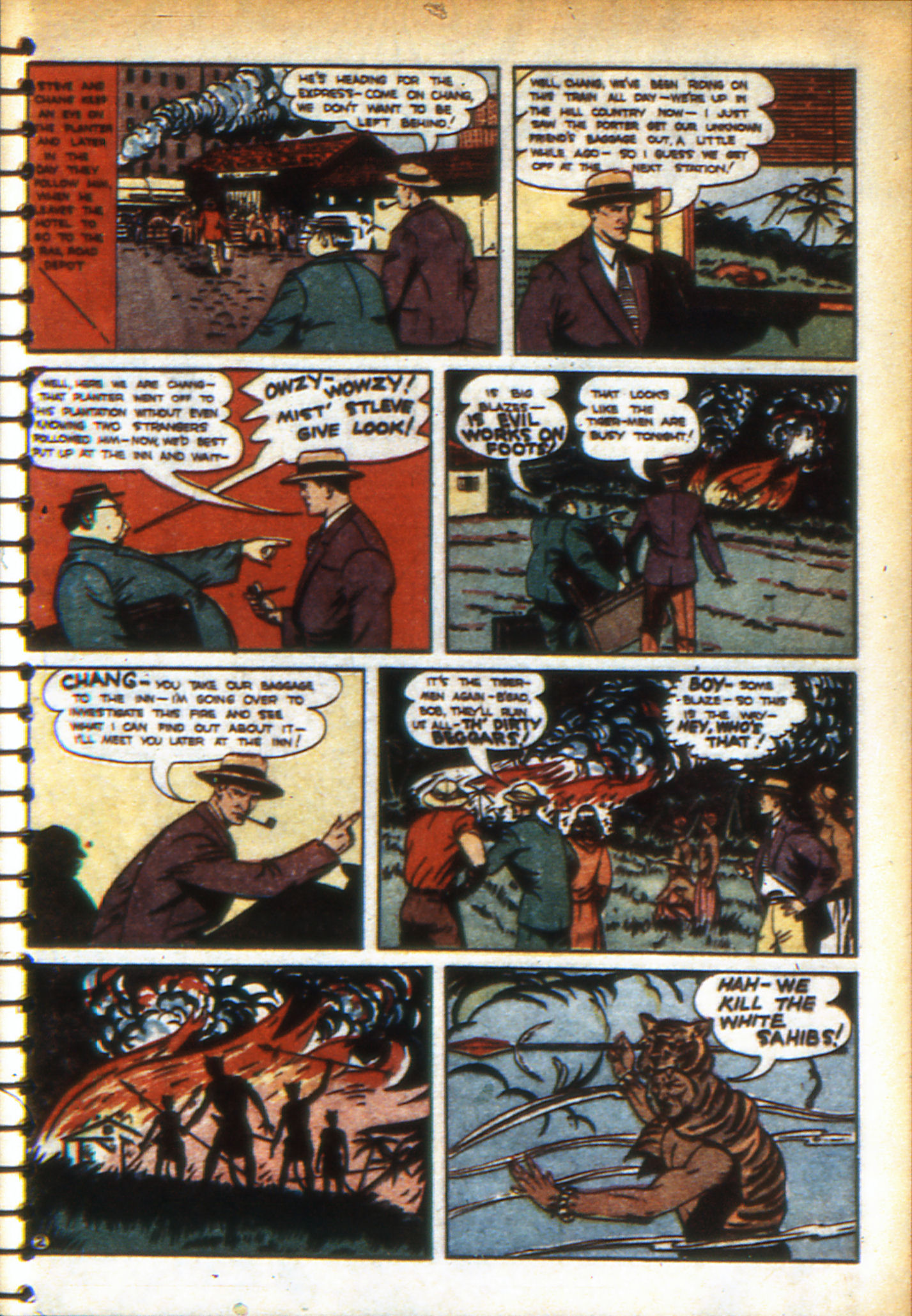 Read online Adventure Comics (1938) comic -  Issue #49 - 45