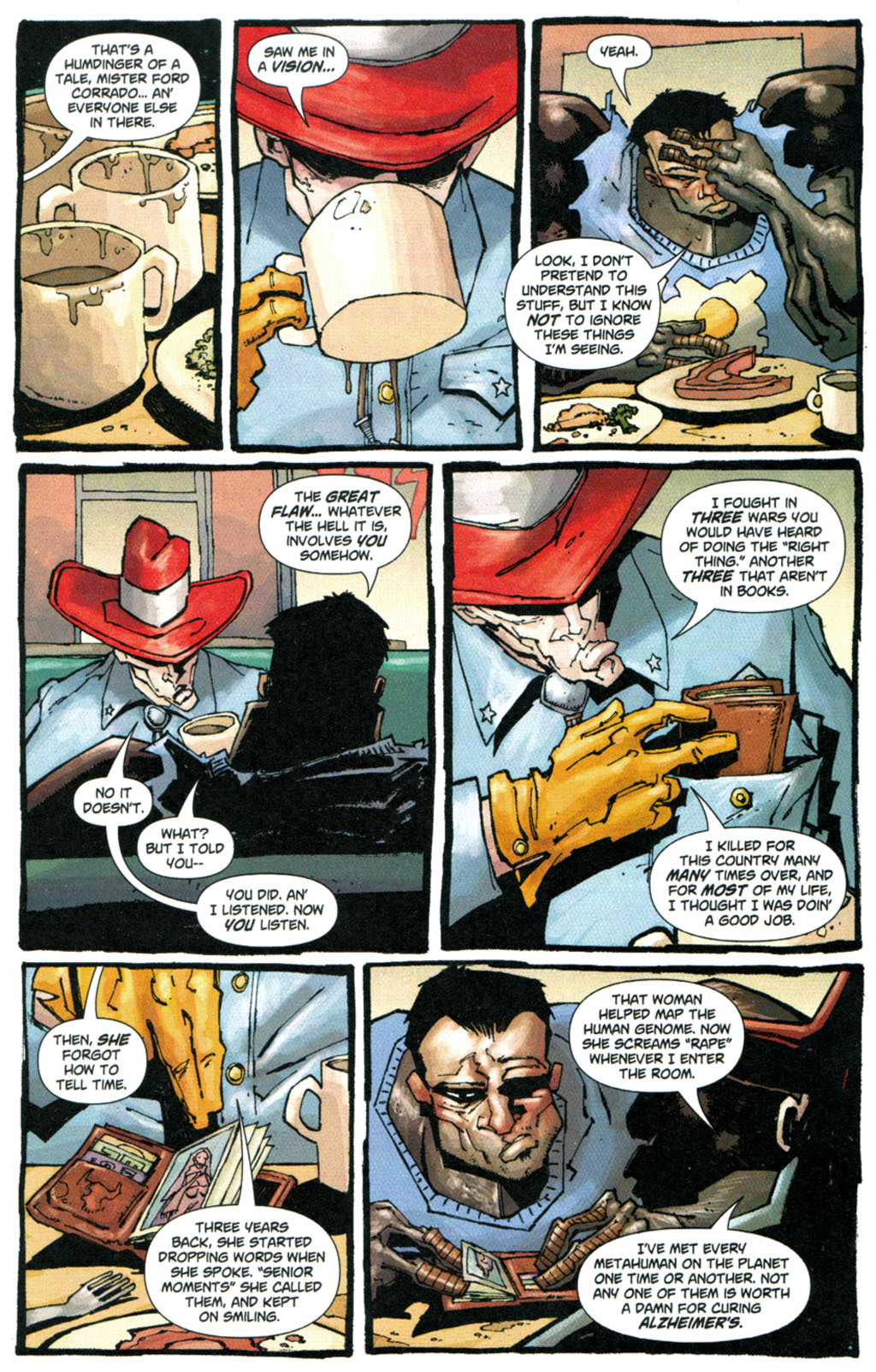 Read online Enginehead comic -  Issue #5 - 17