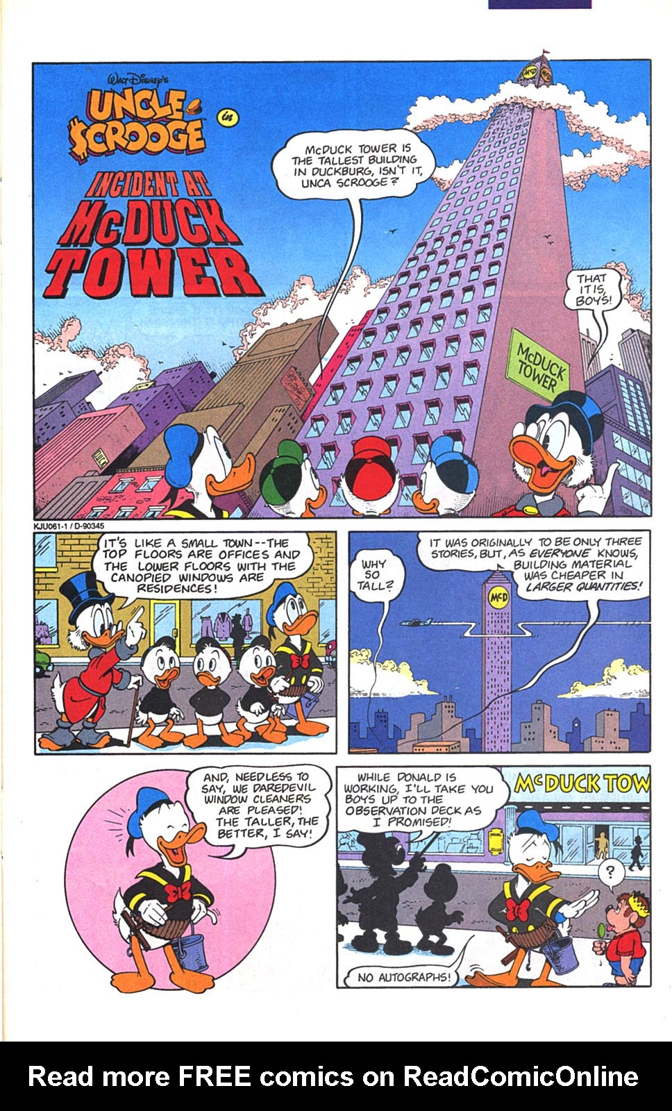 Read online Uncle Scrooge (1953) comic -  Issue #268 - 23