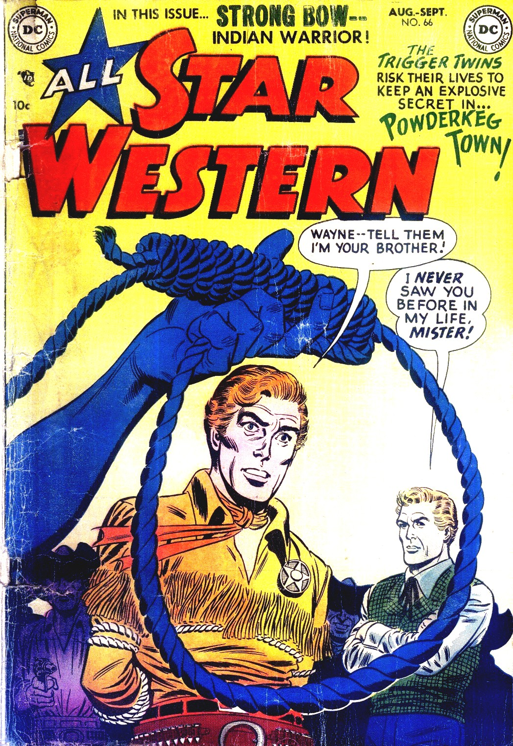 Read online All-Star Western (1951) comic -  Issue #66 - 1
