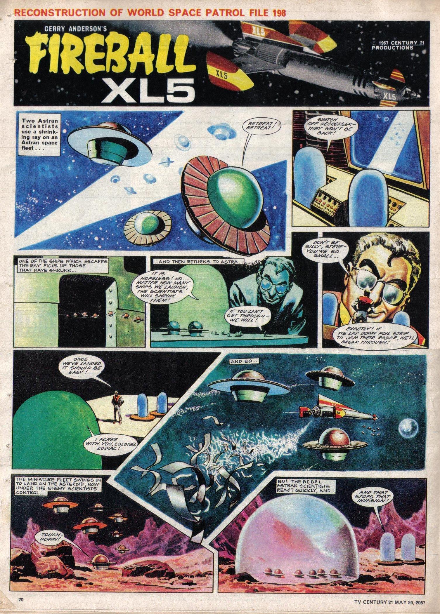 Read online TV Century 21 (TV 21) comic -  Issue #122 - 19