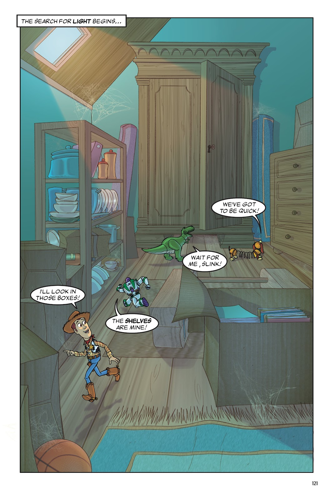 Read online DISNEY·PIXAR Toy Story Adventures comic -  Issue # TPB 1 (Part 2) - 21