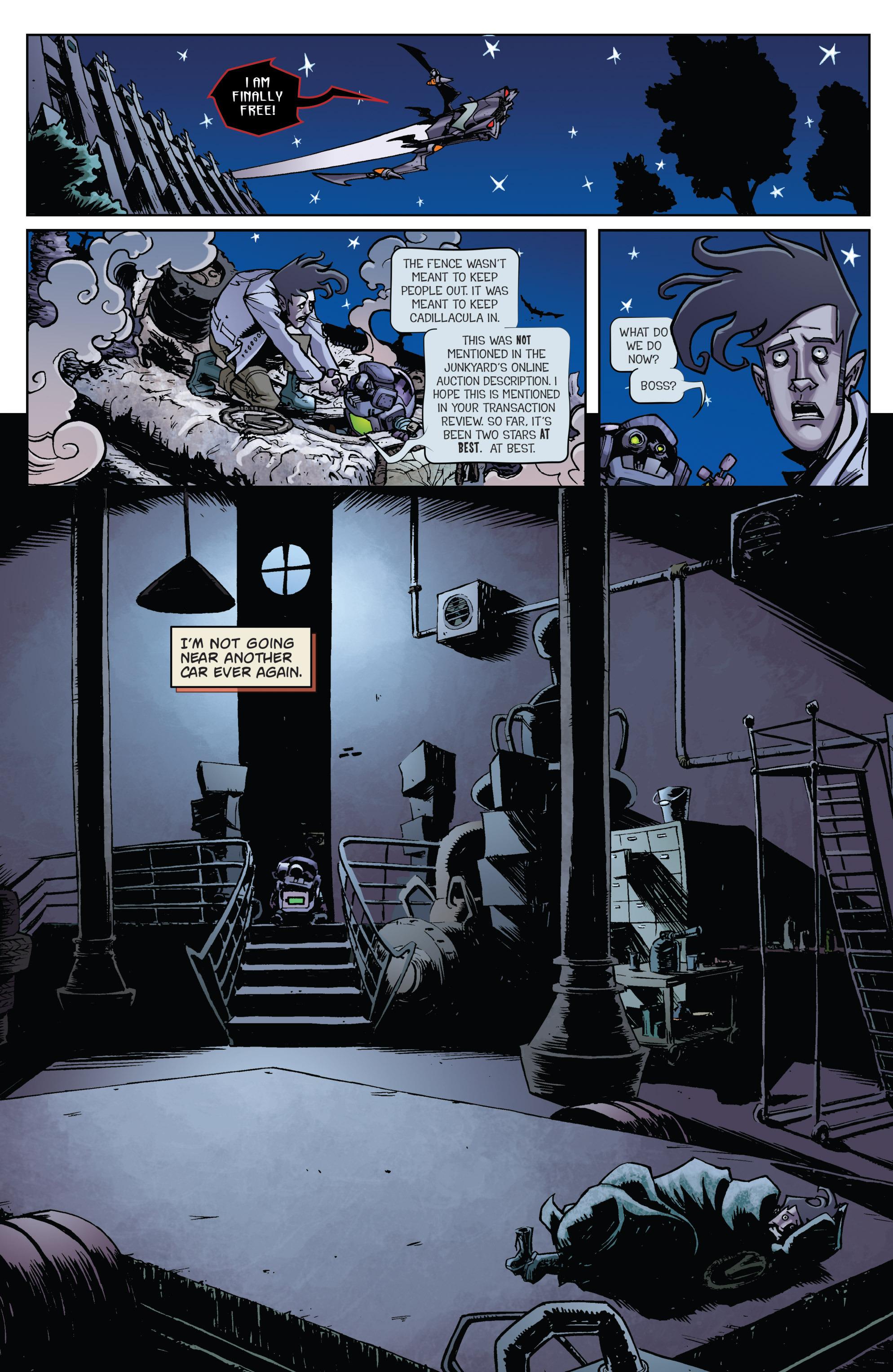 Read online Monster Motors comic -  Issue # Full - 19