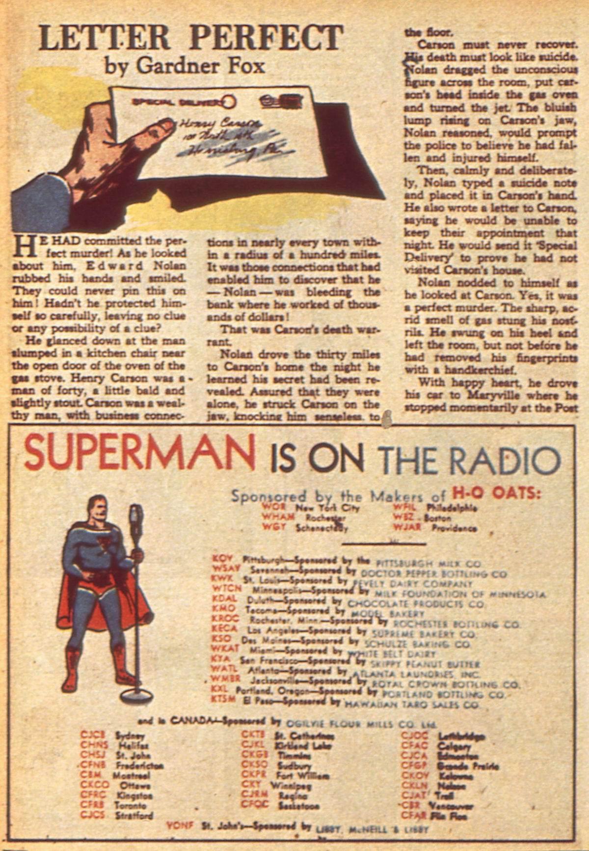 Read online Detective Comics (1937) comic -  Issue #49 - 50