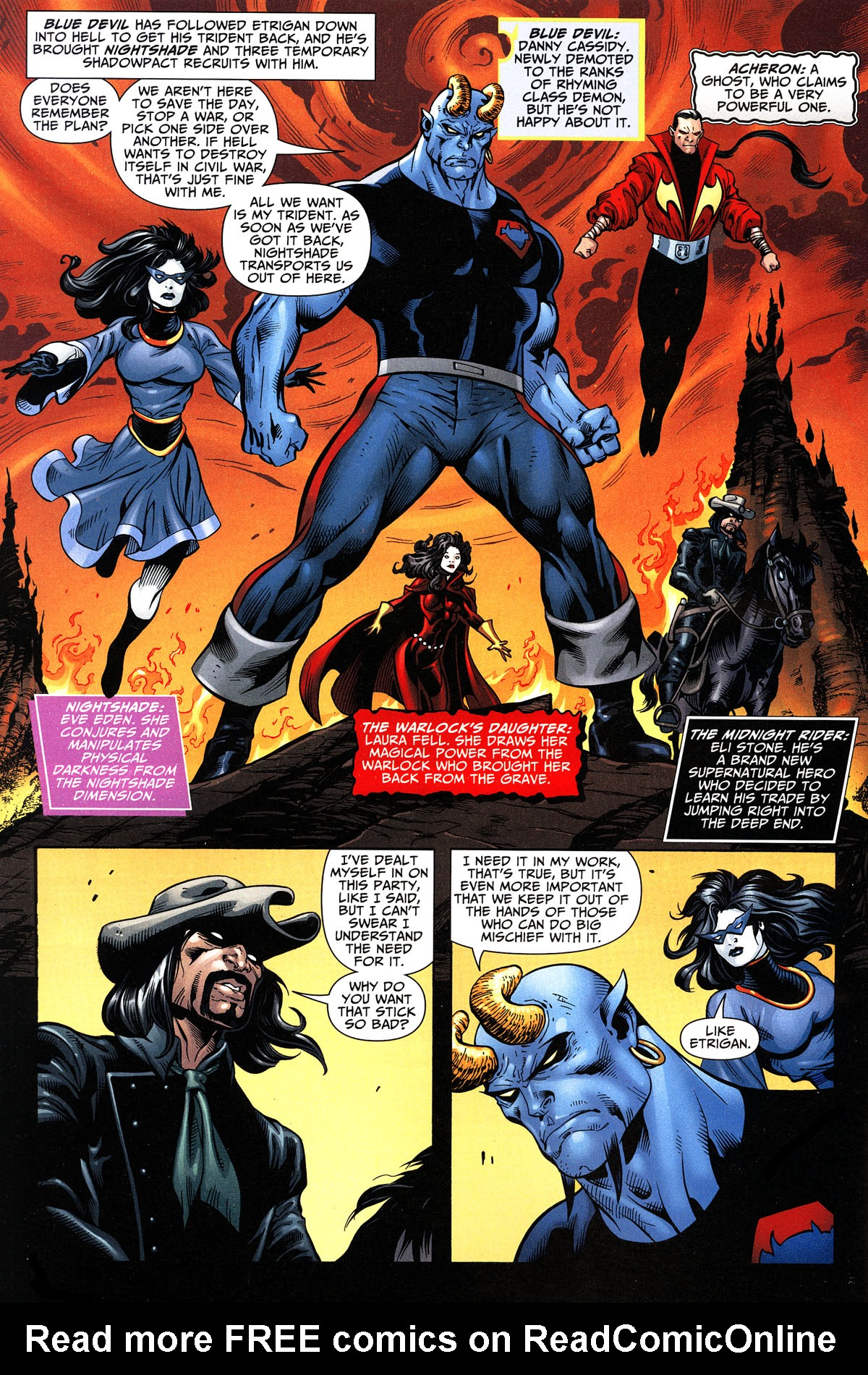 Read online Shadowpact comic -  Issue #11 - 4