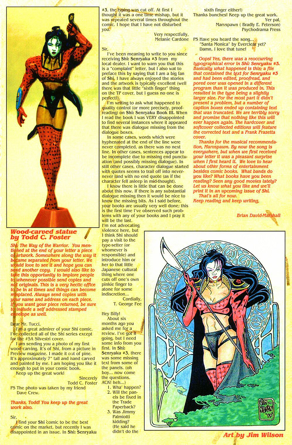 Read online Shi: The Way of the Warrior comic -  Issue #7 - 28