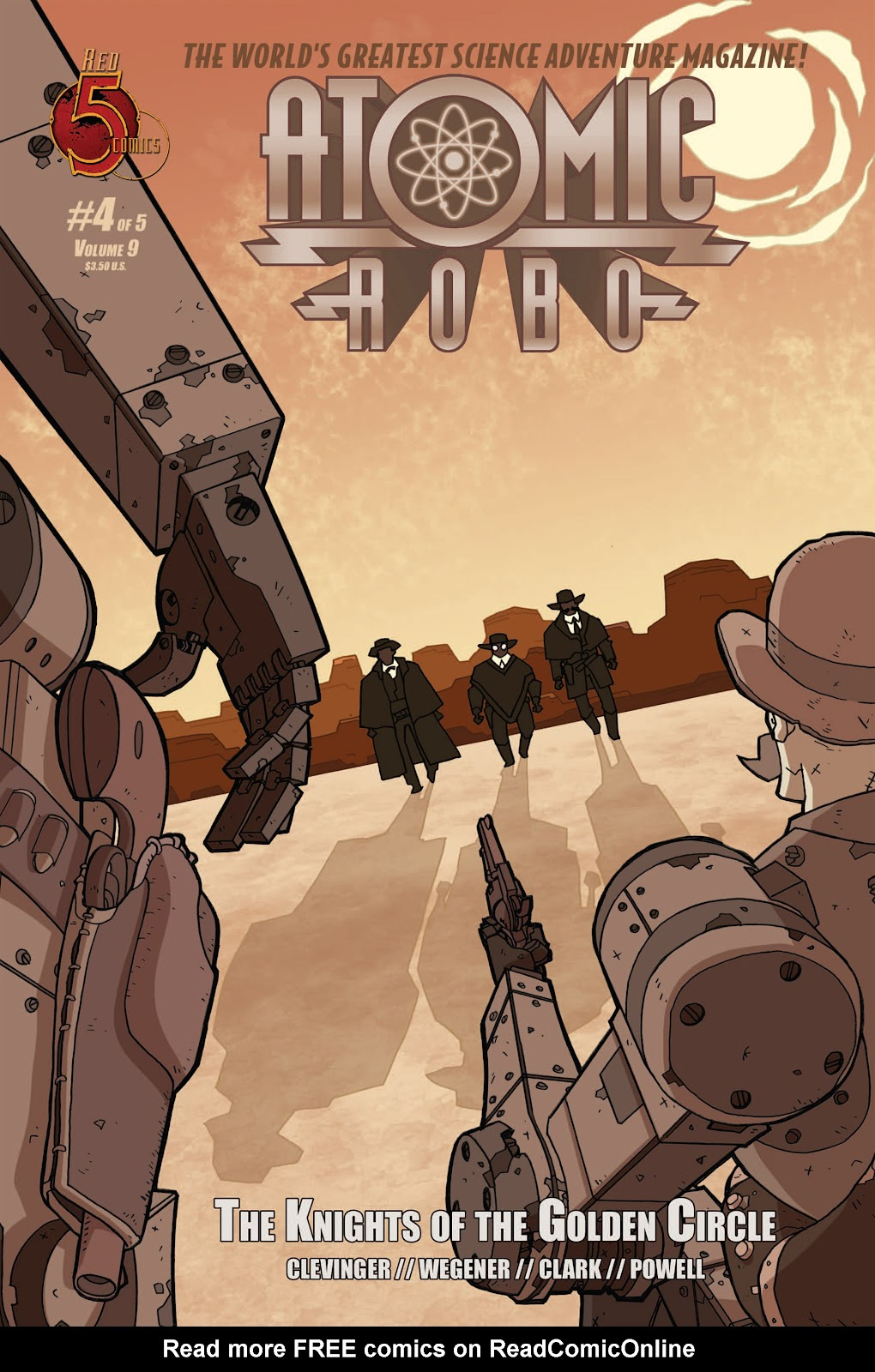 Atomic Robo and the Knights of the Golden Circle 4 Page 1