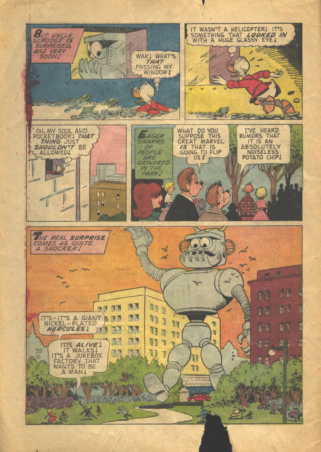 Read online Uncle Scrooge (1953) comic -  Issue #58 - 4