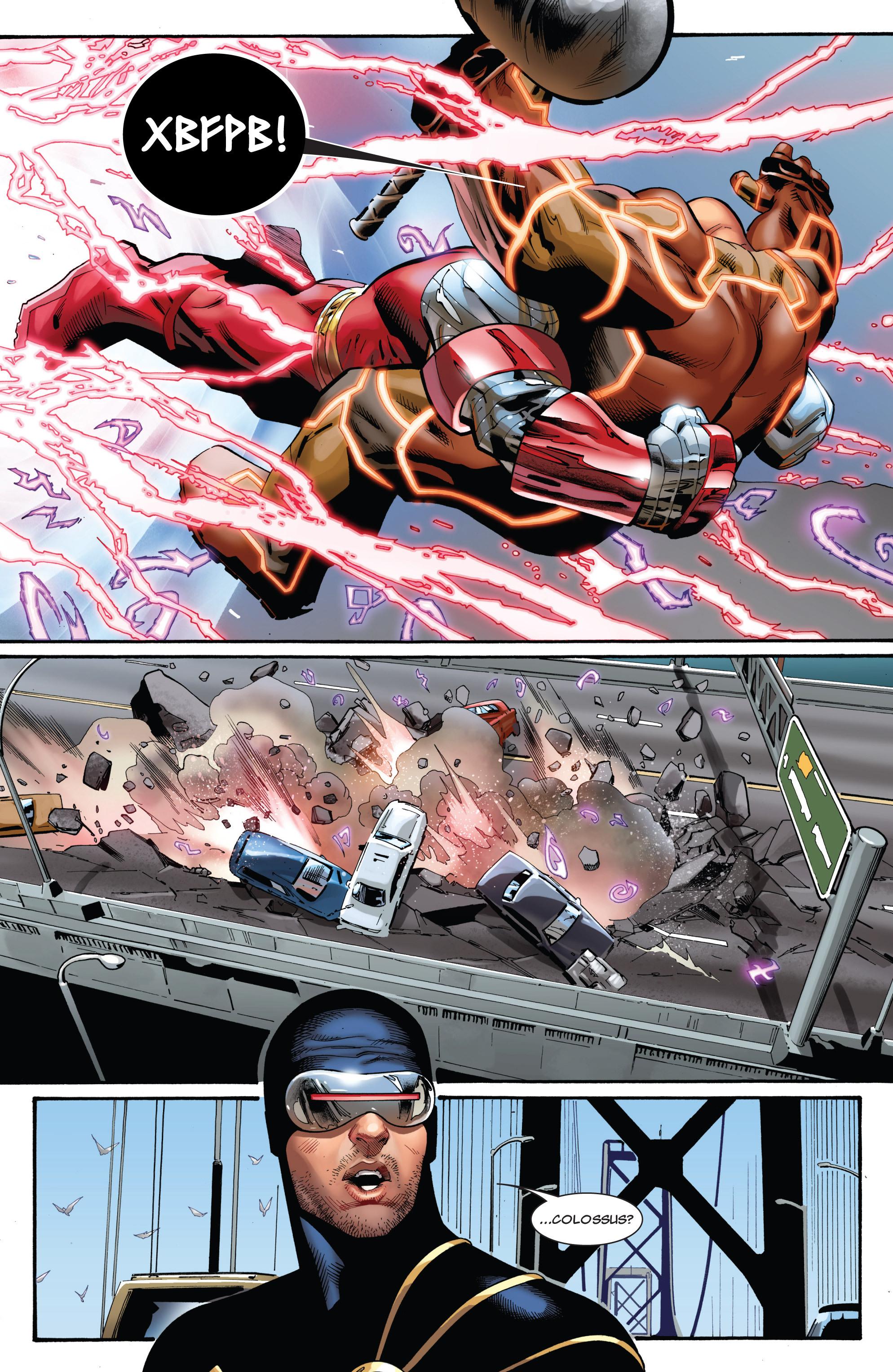 Read online Uncanny X-Men (1963) comic -  Issue #543 - 8