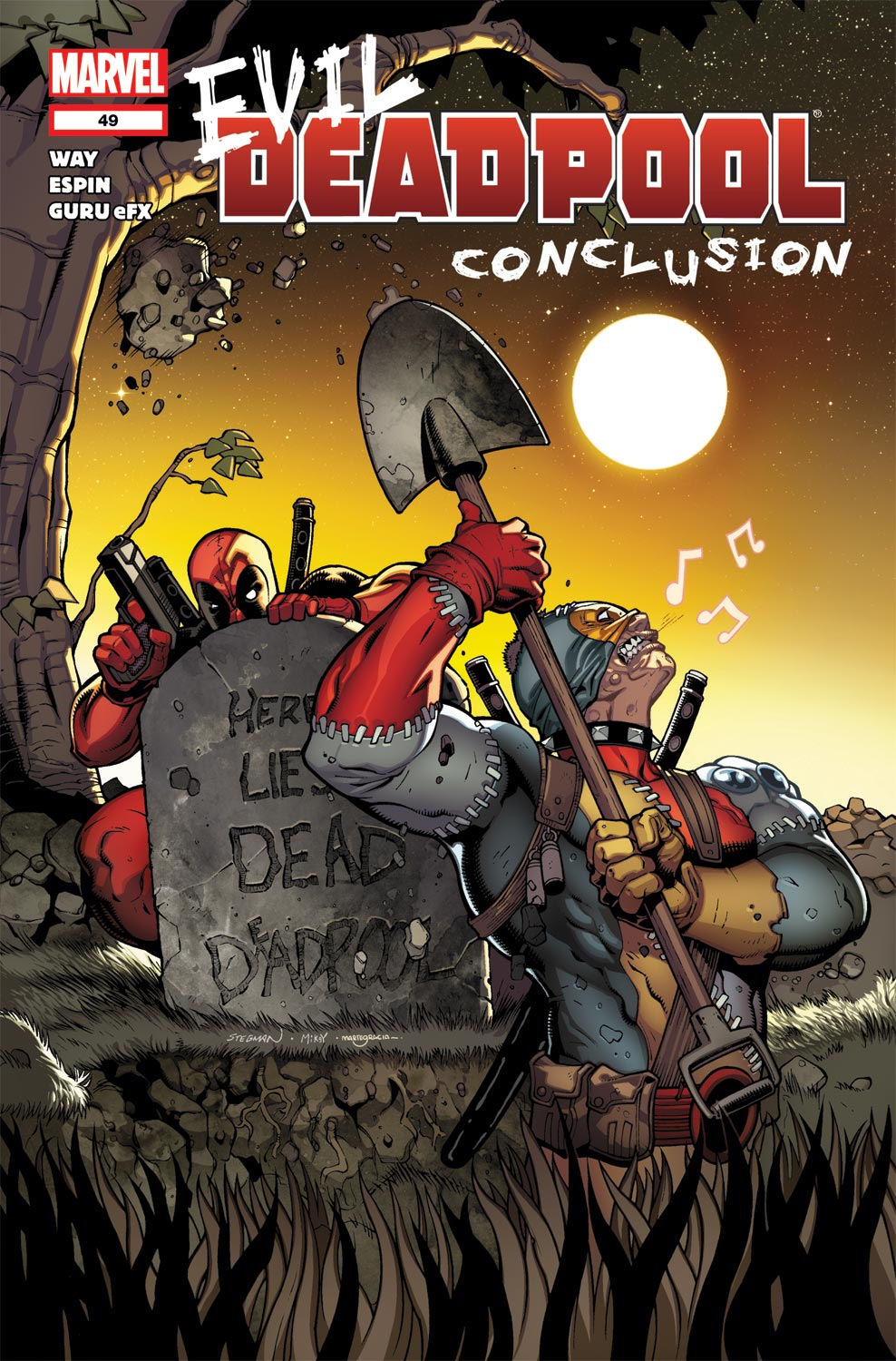 Read online Deadpool (2008) comic -  Issue #49 - 1