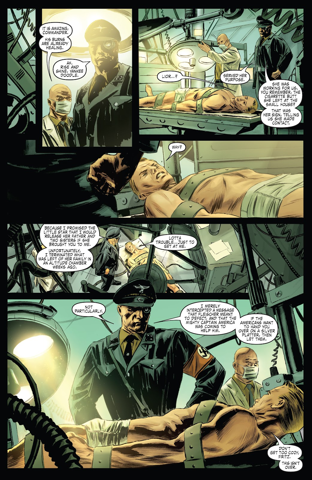 Read online Captain America Theater Of War: Operation Zero-Point comic -  Issue # Full - 13