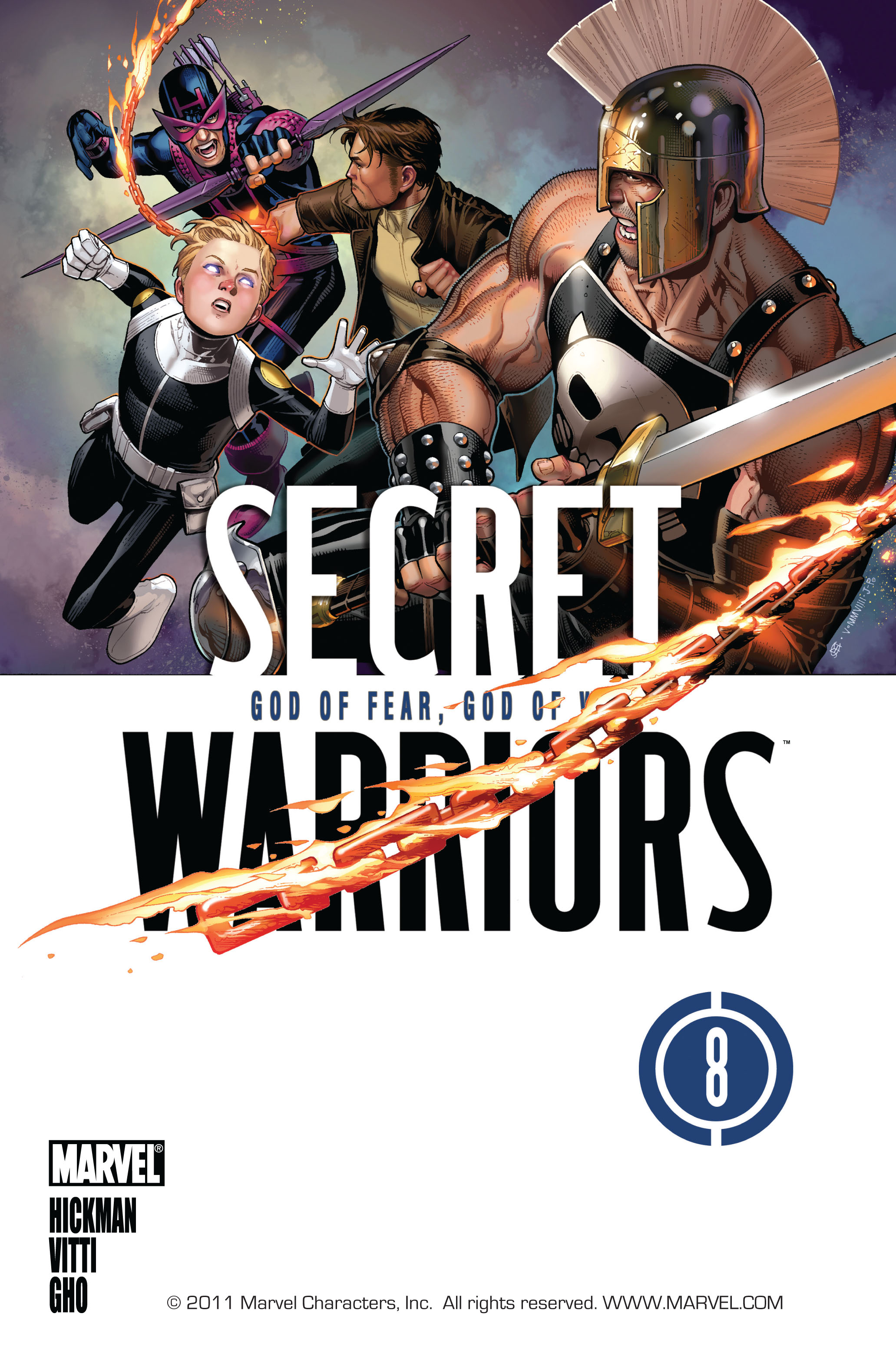 Read online Secret Warriors comic -  Issue #8 - 2