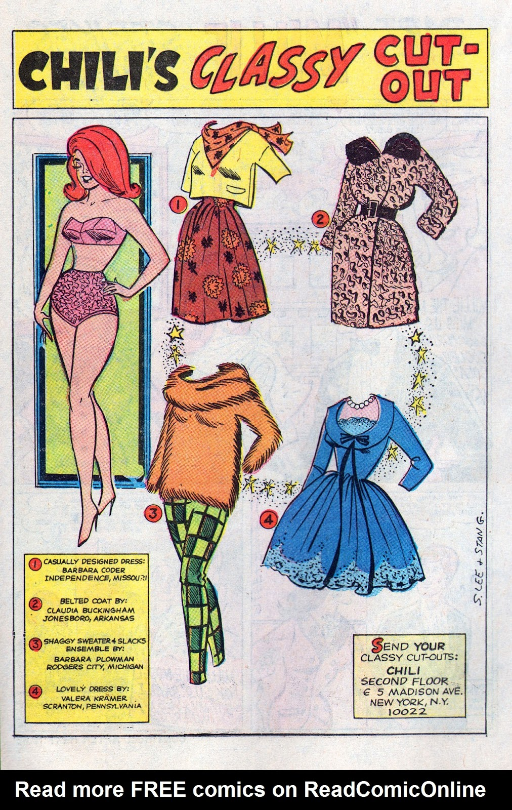 Read online Millie the Model comic -  Issue # Annual 6 - 54
