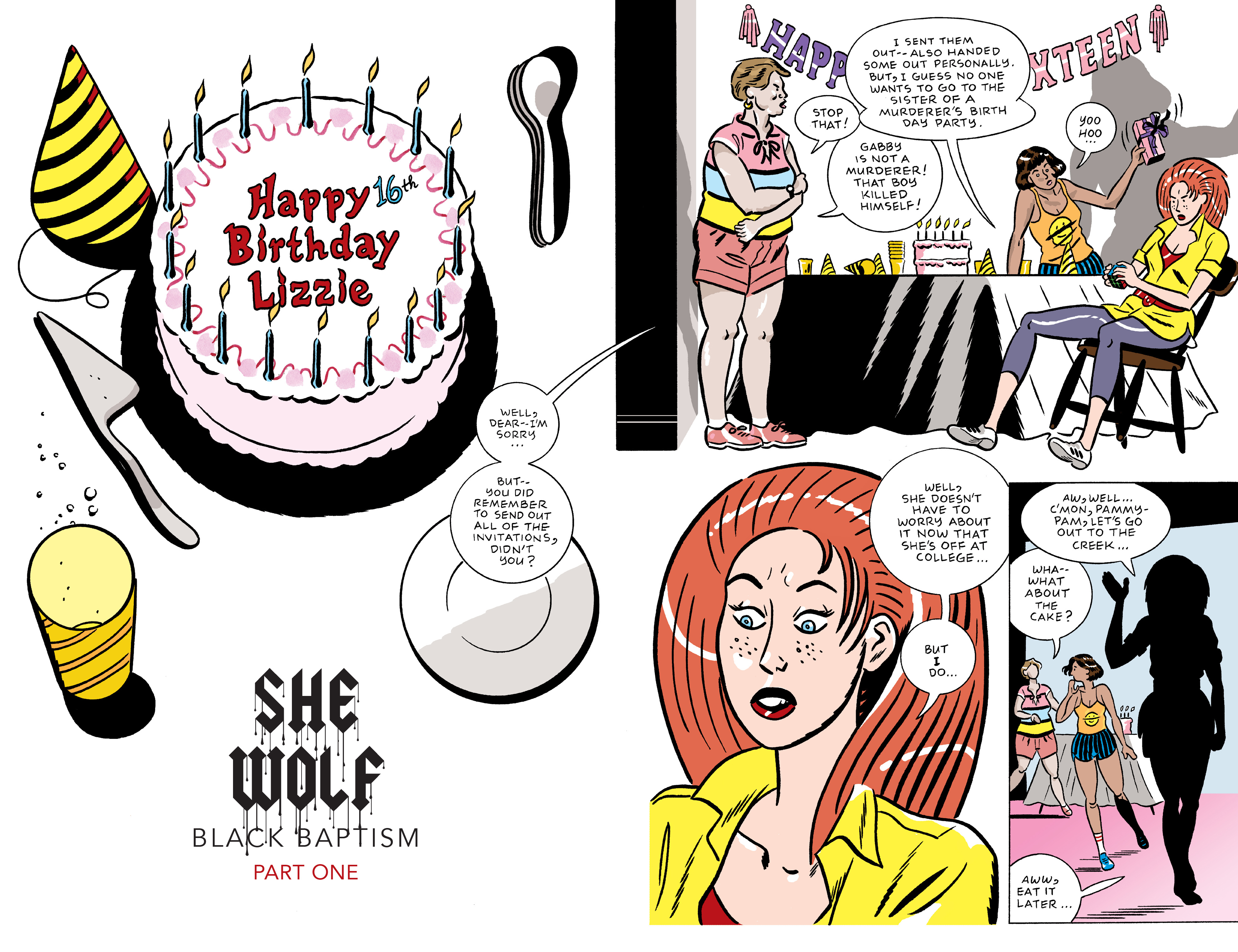 Read online She Wolf comic -  Issue #5 - 2