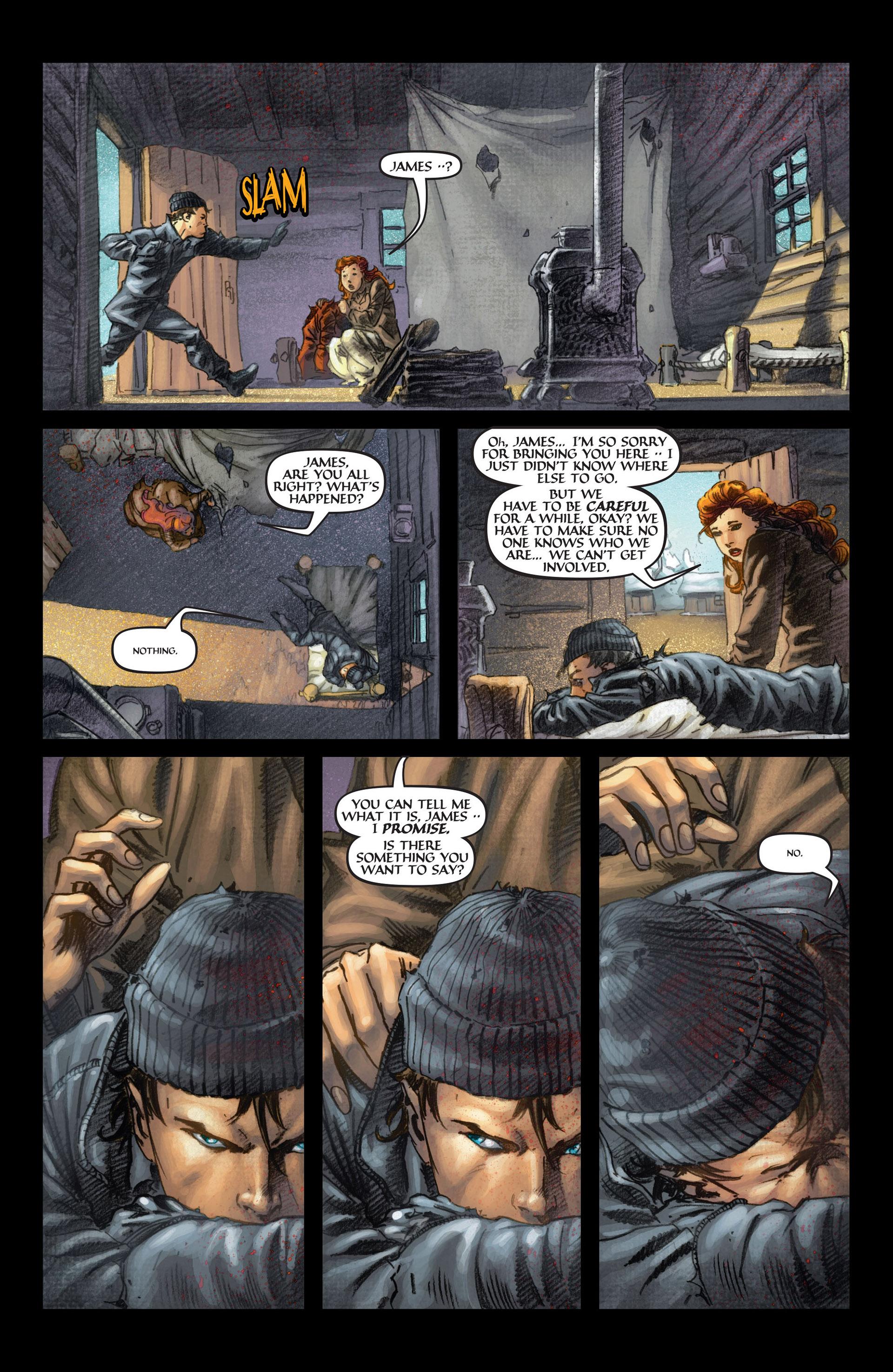 Read online Wolverine: The Origin comic -  Issue #4 - 7