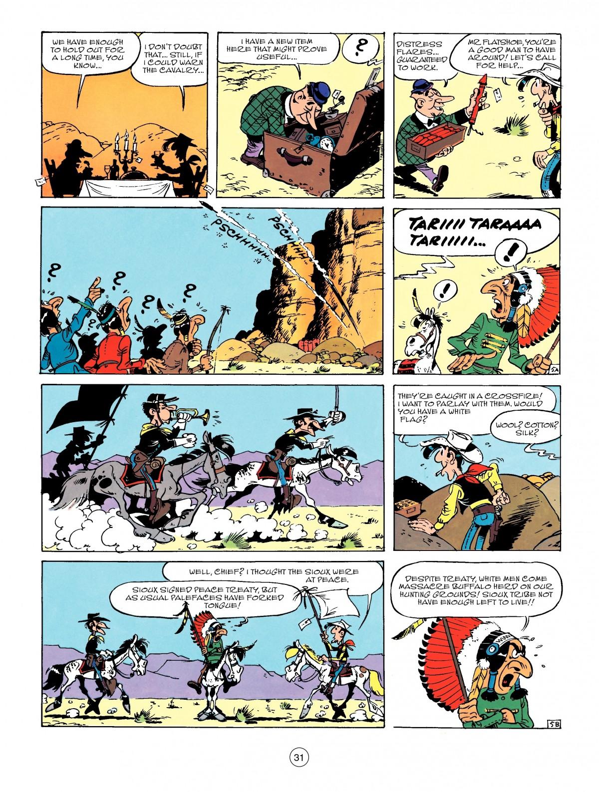 Read online A Lucky Luke Adventure comic -  Issue #50 - 31