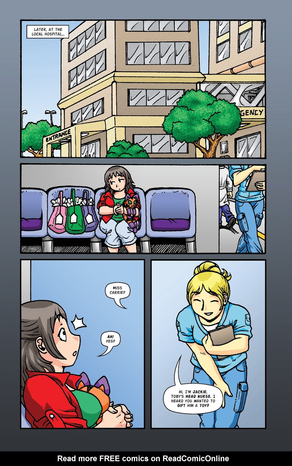 Read online Plush comic -  Issue #2 - 12