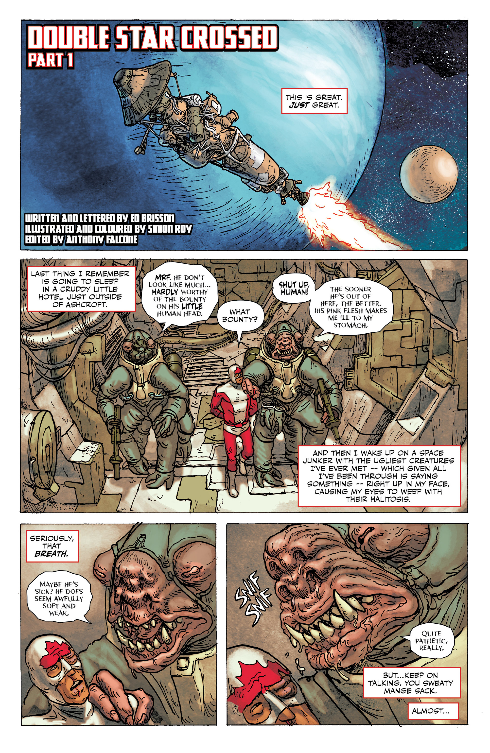 Read online All-New Classic Captain Canuck comic -  Issue #0 - 35