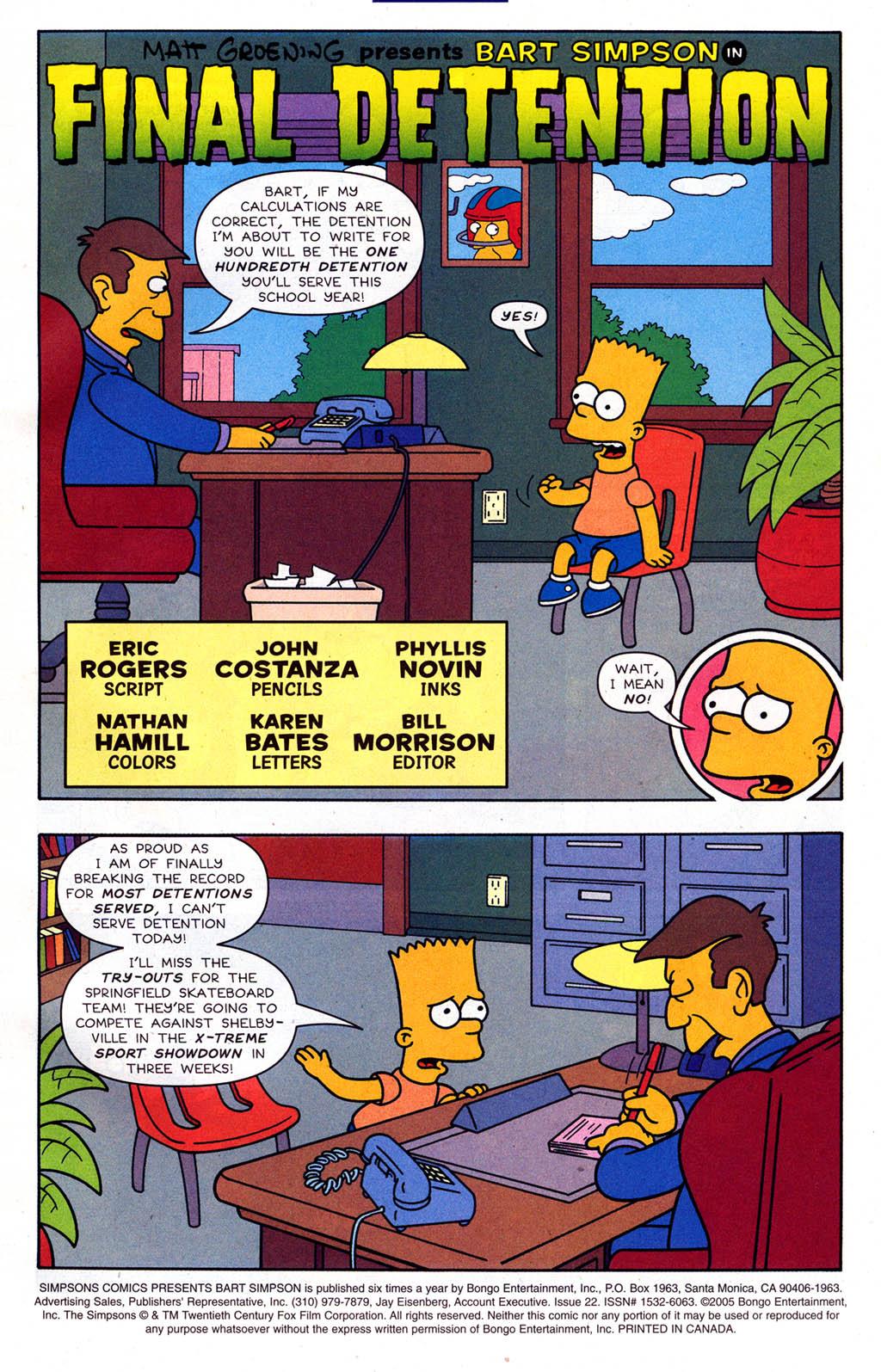 Read online Simpsons Comics Presents Bart Simpson comic -  Issue #22 - 3