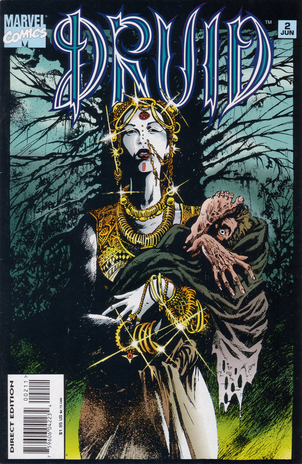 Read online Druid comic -  Issue #2 - 1
