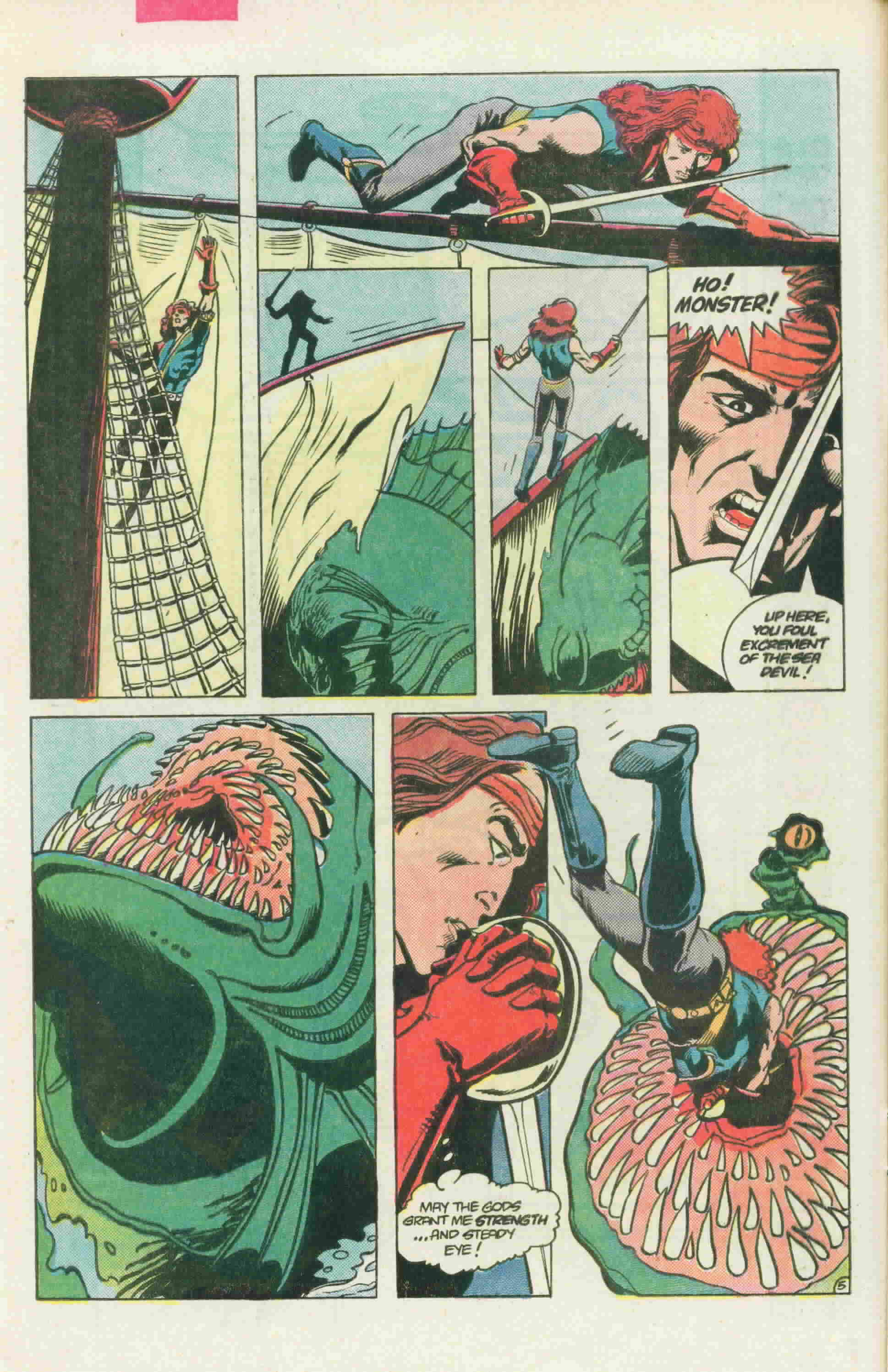 Read online Arion, Lord of Atlantis comic -  Issue #22 - 9