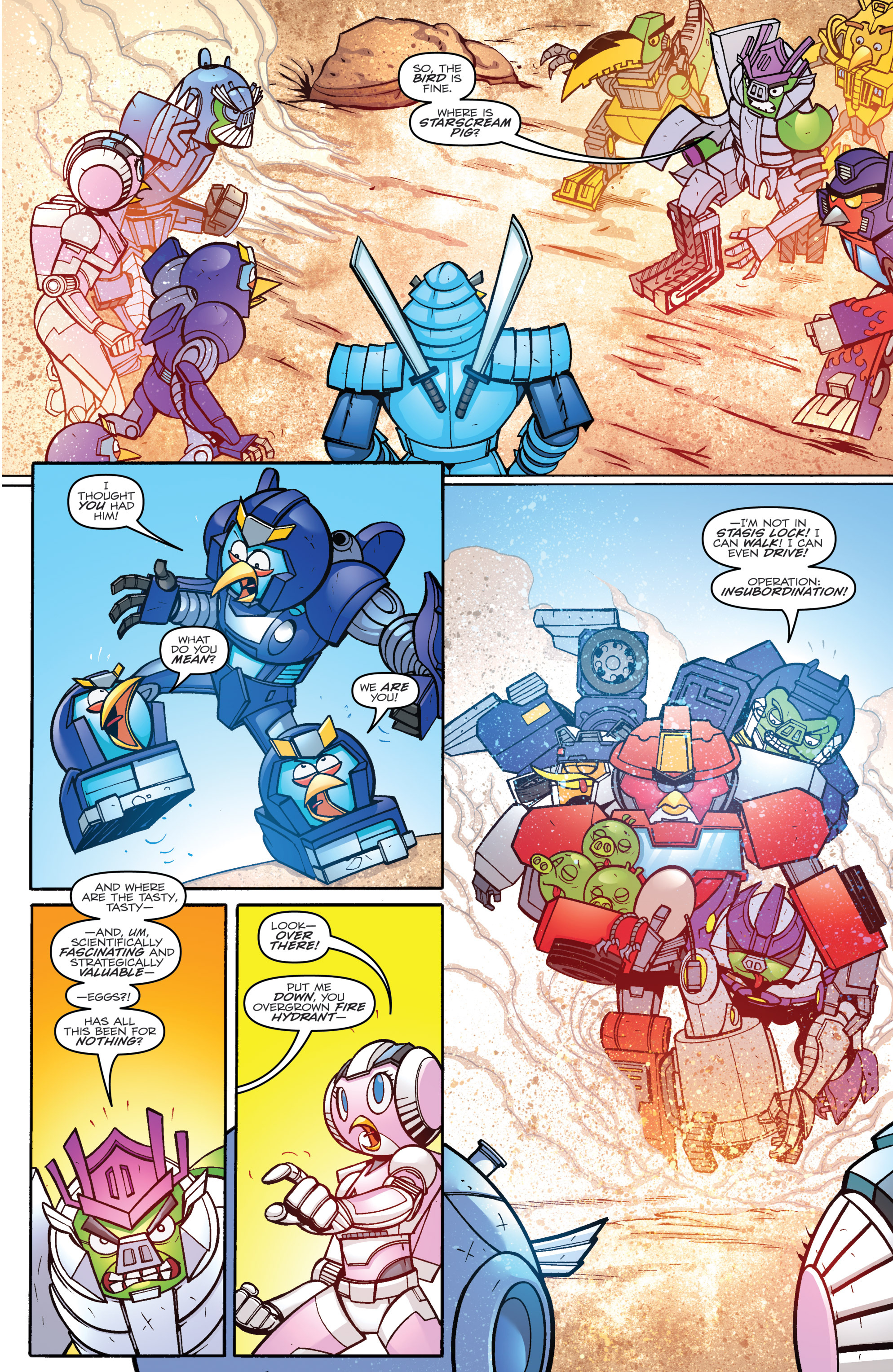 Read online Angry Birds Transformers comic -  Issue #3 - 20