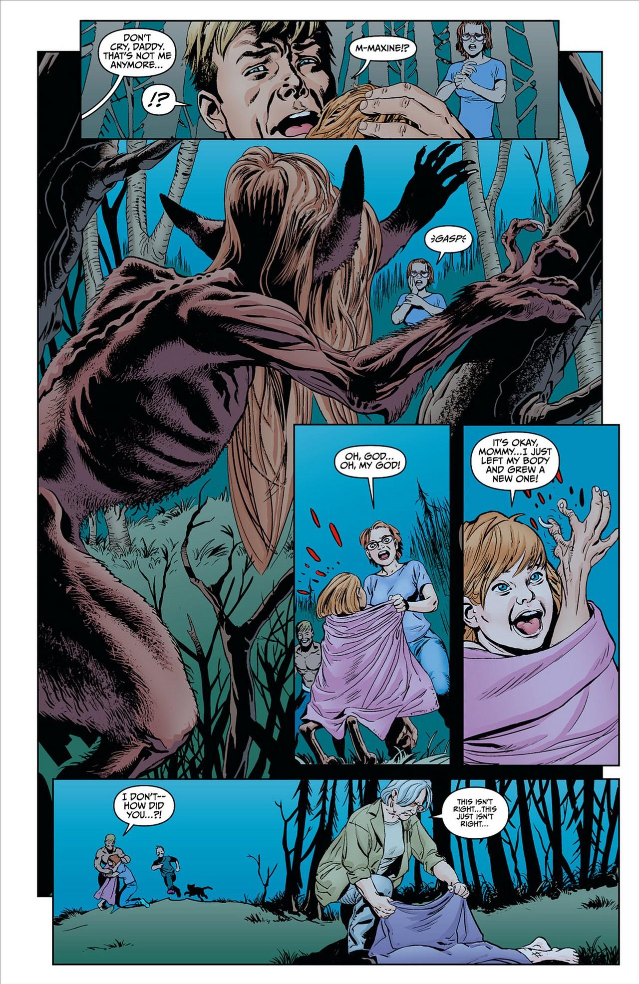 Read online Animal Man (2011) comic -  Issue #8 - 8