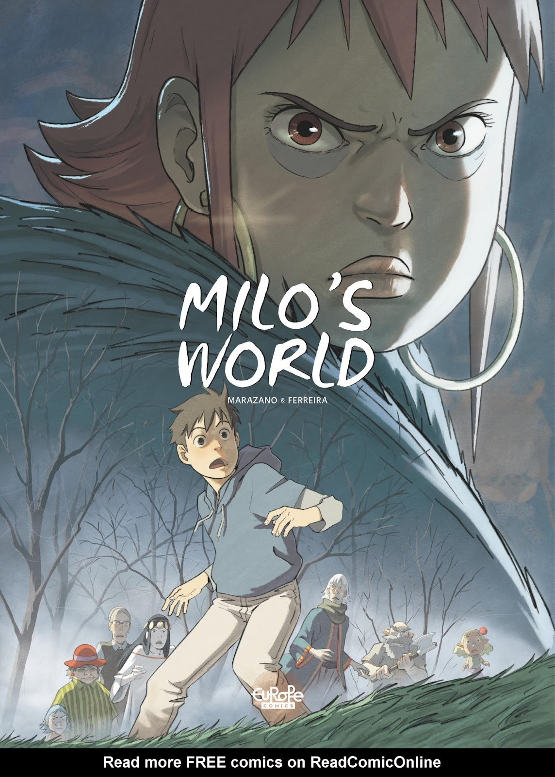 Milo's World issue 4 - Page 1